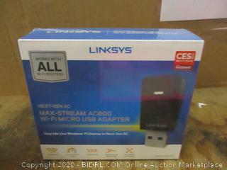 Linksys Max stream AC600 Wi-Fi Micro USB Adapter