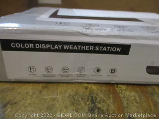 Color Display Weather Station