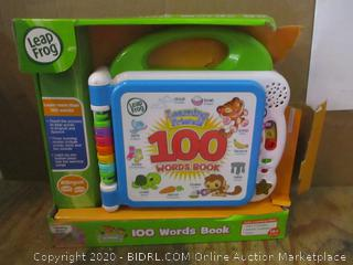 Leap Frog 100 Word Book