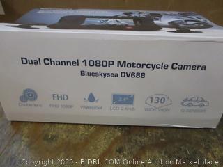 Blueskysea Dual Channel 1080P FHD Motorcycle Camera