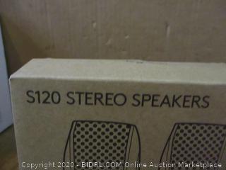 S120 Stereo Speakers