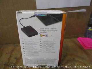 Seagate Backup Plus Portable Storage