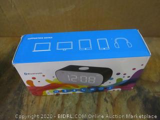Clock Bluetooth Speaker