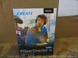 Cyberlink Create Power Director 18