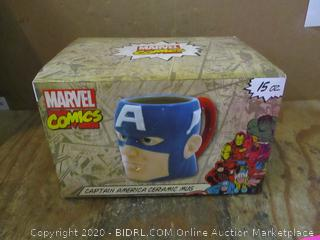 Marvel Comics Captain America Ceramic Mug