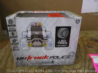 RC Truck Police  LED Tires