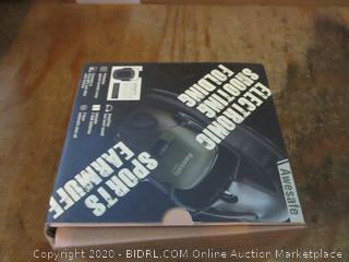 Sports Earmuff Electronic Shooting Folding