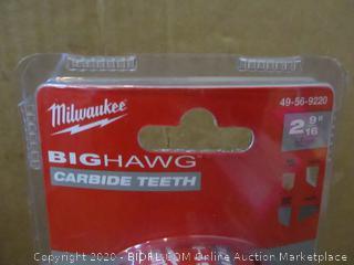 Milwaukee Big Hawg Carbide Teeth