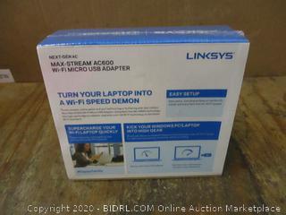 Linksys Next-gen AC Max Stream AC600 WiFi Micro USB Adapter