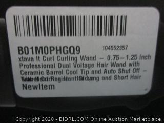 Xtava It Curl Curling wAND