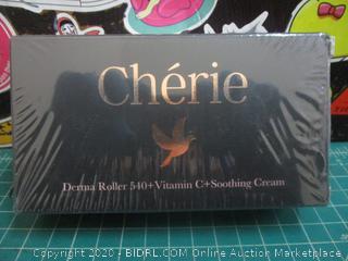 Cherie Derma Roller 540+ Vitamin C+Soothing Cream