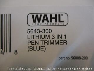 Wahl 3 in 1 Pen Trimmer  condition of box may vary