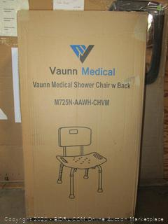Vaunn Medical Shower Chair w Back