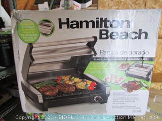 Hamilton Beach Griddle