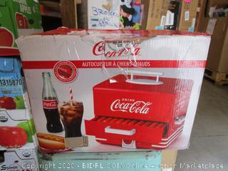 Coca Cola Hot Dog Steamer