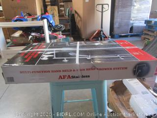 AFA Stainless Multi-Functional Hand Held & Rain Head Shower System