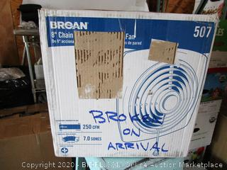 Broan Thru-Wall Fan