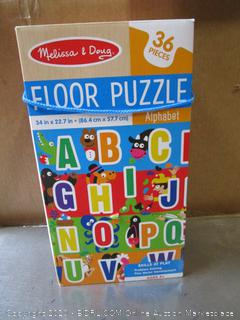 Melissa & Doug Alphabet Floor Puzzle