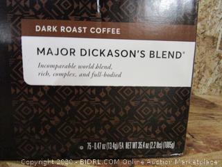Peet's Coffee Major Dickason's Blend Keurig K-Cups