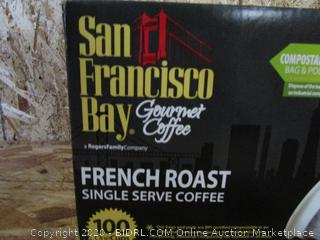 San Francisco Bay Gourmet Coffee French Roast Pods