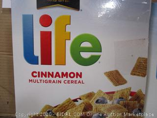 Misc. Lot Boxes Quaker Life Cereal