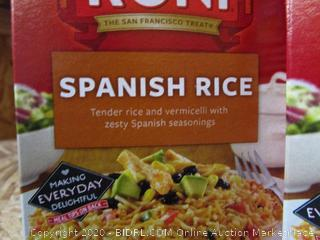 4x Boxes Rice-a-Roni Spanish Rice
