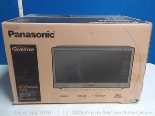 Panasonic Microwave Oven, Stainless Steel Countertop/Built-In 2.2 sq.ft. (online $299)