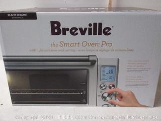 Breville Smart Oven Pro black sesame Factory sealed (online $223)