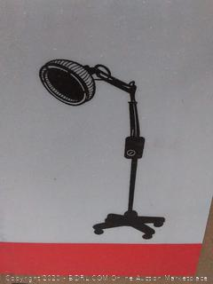 TDP Far Infrared Mineral Heat Lamp with a Detachable Head Factory sealed (online $125)