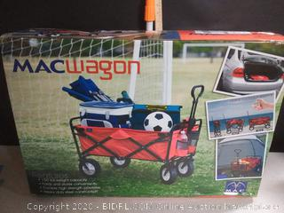 Mac Sports Collapsible Folding Outdoor Utility Wagon, Red (online $62)