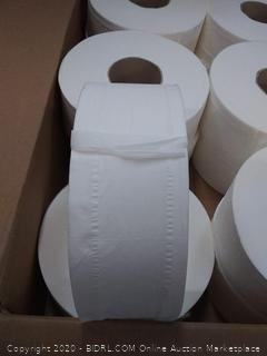 Commercial Jumbo Roll Toilet Paper, 1000 Feet per Roll, 12 Rolls - 416972