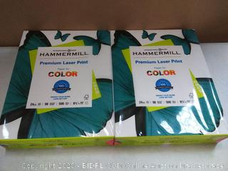 hammermill premium laser print paper for color 500 sheet 2 count