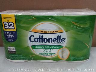Cottonelle Ultra gentlecare with aloe and E (6 rolls)