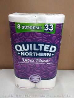 Quilted Northern Ultra Plus toilet paper 8 rolls