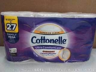 Cottonelle Ultra comfortcare cushioning toilet paper 2 ply