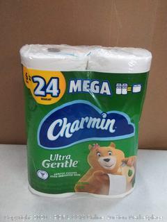 Charmin Ultra Gentle toilet paper 6 rolls