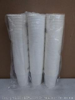 Paper cups 3 pack of 50