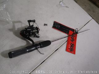 Shakespeare - Ugly Stick, Ice Fishing Reel & Rod Combo (Broken Rod, Please See Pictures)