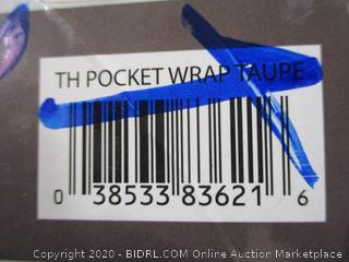 "Therapedic- Warm Me Up- Heated Pocket Wrap- Taupe ( 26"" x 74"")"