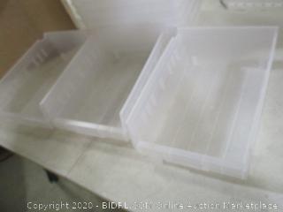 Arko Mils- Plastic Storage Bins- Set of 12
