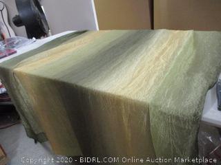 "Achim- Ombre Window Curtain Panel- Sage (50"" x 63"")"