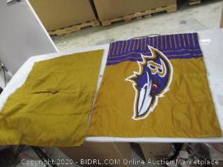 Make It Official- 2 Baltimore Ravens Pillow Cases