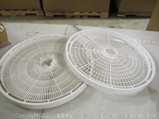 2 Piece Dehydrator Tray Set
