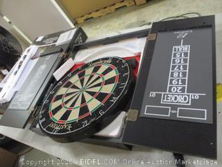 EastPoint Sports- Belmont- Bristle Dartboard & Cabinet Set