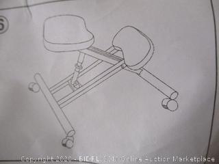 Dragonn- Kneeling Chair- Black