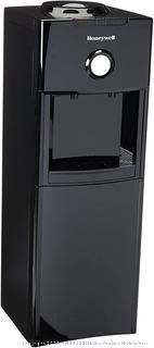Honeywell Antibacterial Chemical-Free Technology, Hot and Cold Water Dispenser, Stainless Steel Tank, Adjustable Thermostat, Black (online $125)