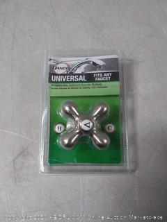 Danco Universal Cross Arm Handle Brushed Nickel