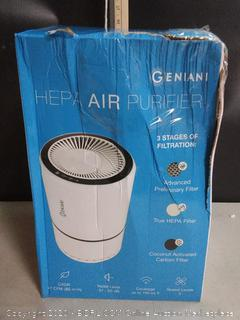 GENIANI Home Air Purifier with True HEPA Filter for Allergies & Pets (online $65)
