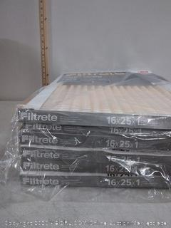 Filtrete air filters pack of 6 (16x25x1)