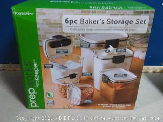 Progressive ProKeeper 6 pc Bakers Storage Set(Factory Sealed) COME PREVIEW!!!! (online $44)